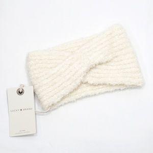 Lucky Brand Cream Winter Headband Headwrap NWT